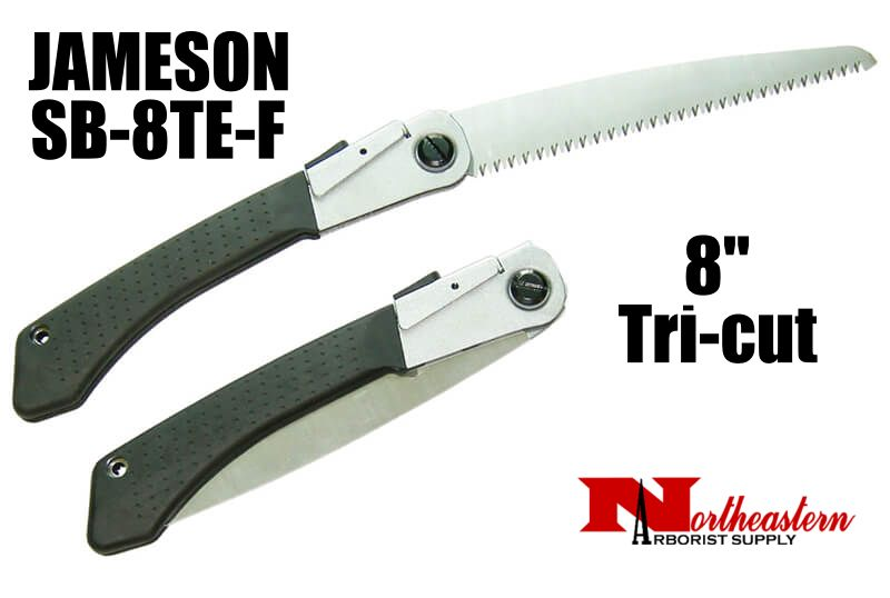 "Jameson Folding Hand Saw with Tri-cut 8"" Blade"