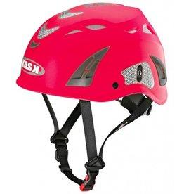 KASK Red Hi-Viz Kask Plasma Work Helmet w/ Adapter for Ear Defenders