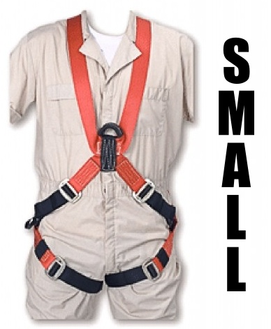 "Bashlin Full Body Harness, 683XC Series: ""X"" Style, Small"