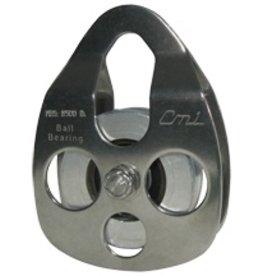"""CMI Block, 5/8"""" Rope 2+3/8"""" Aluminum Bearing Sheave, 8,500lbs. MBS"""