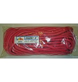 """All Gear Inc. BULL ROPE 5/8"""" x 150' 18000# ATS When New,  Red w/Green Tracer"""