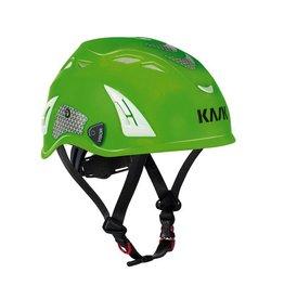 KASK Yellow Hi-Viz Kask Plasma Work Helmet w/ Adapter for Ear Defenders