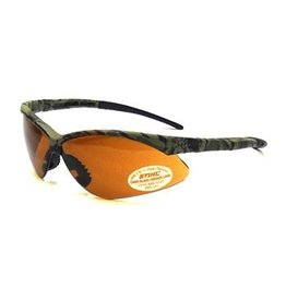Stihl Camo Safety Glasses with Smoke Lens