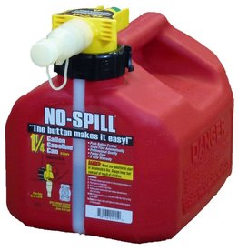 NO-SPILL® Red 1.25 Gallon Gas Can #1415