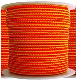 "All Gear Inc. ""Target Line""™ 100% Slick Arborist Throw Line Neon Orange and Yellow 1/8' x 200'"