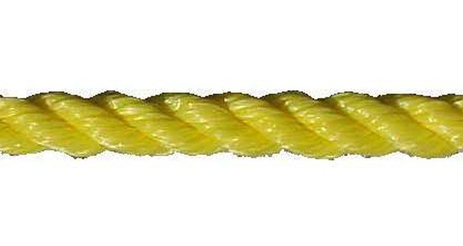 "All Gear Inc. Polypropylene 3-Strand Twisted, 3/4"" x  600'  7,650 lbs ABS, Spool"
