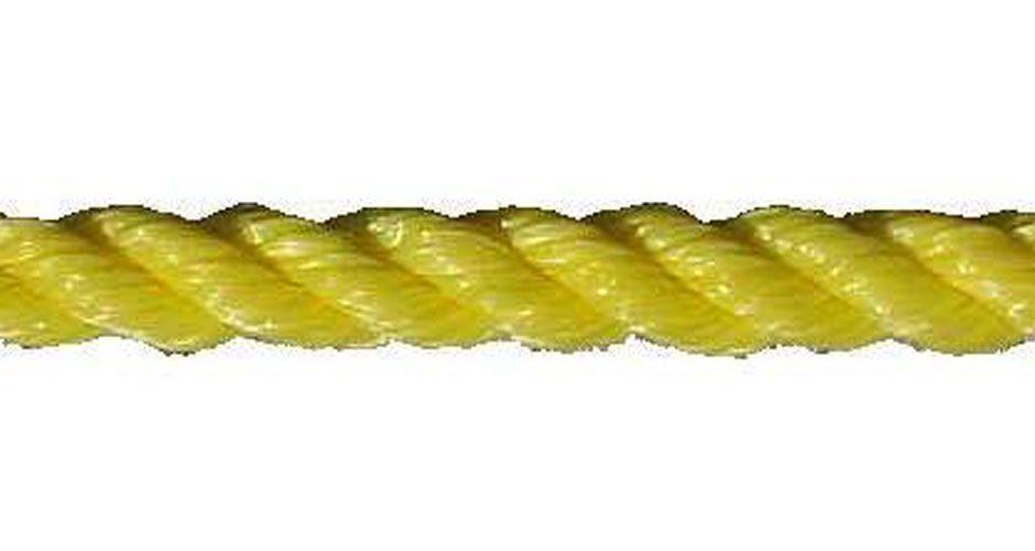 "All Gear Inc. Polypropylene 3-Strand Twisted Rope, 5/8"" x 300', a general purpose, Medium Duty Pull Line"