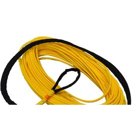"""All Gear Inc. Chipper Winch Rope 5/16"""" x 200' , with 1 Eye, Coated 15,300# ABS"""