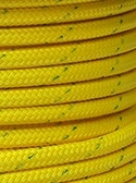 "All Gear Inc. BULL ROPE 9/16"" x 150' 14,000lbs. ABS, Yellow w/ Green Tracer"