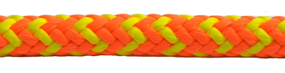 All Gear Inc. Safetylite 16-Strand Braided Polyester 1/2' x 150'