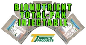 Growth Products BIONUTRIENT TOTAL-PAK INJECTABLE FOR TREES  With Mycorrhizal Technology