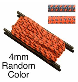 Teufelberger Accessory Cord, Polyester, 4mm, Random Color, per Foot 660# MBS