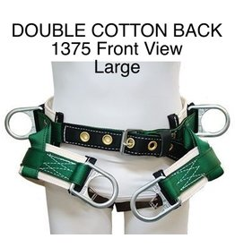 Buckingham Saddle, DOUBLE COTTON BACK #1375 Large