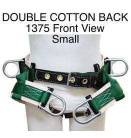 Buckingham Saddle, DOUBLE COTTON BACK #1375 Small