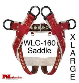 """Weaver Saddle, WLC-160 with 2"""" Nylon Leg Straps, Extra large"""