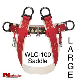 Weaver Saddle WLC-100 4-Dee Single Thick No Leg Straps Large