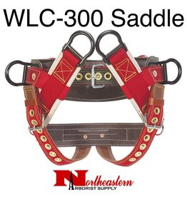 """Weaver Saddle, WLC-300 4-Dee Extra Wide Back with 2"""" wide Leg Straps"""