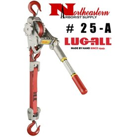 LUG-ALL Model 25-A, 1+1/2 Ton Web Strap Hoist