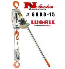 LUG-ALL Model 6000-15, 3 Ton Cable Hoist