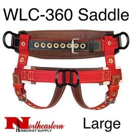 Weaver Saddle, 2 Floating Dee Extra Wide Back Size Large