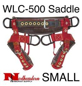 Weaver Saddle, WLC-500 with Padded Nylon Leg Straps Size Small