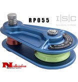 ISC Block, Aluminum, 3/4, Blue, Medium Green Sheave