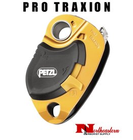 Petzl PRO TRAXION, Very efficient loss-resistant progress capture pulley