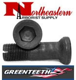Greenteeth® THE LO-PRO  BOLT HAS A 1/2&quot; ALLEN DRIVE, A SMOOTH SHANK TO MINIMIZE WHEEL WEAR, AND A SLOT AT THE END FOR EASY BOLT REMOVAL IN CASE OF A BROKEN BOLT.<br />