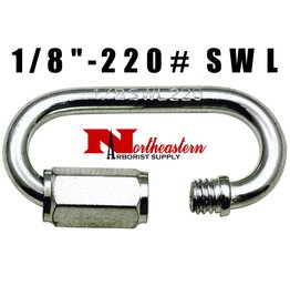 "Hardware Quick Link 1/8"" -SWL 220#"