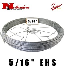 "Fehr Bros. Cable EHS Grade 5/16"" X 200' with dispenser cage"