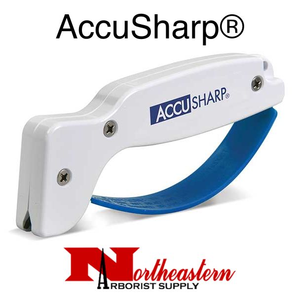 AccuSharp® Knife & Tool Sharpener - White with Blue