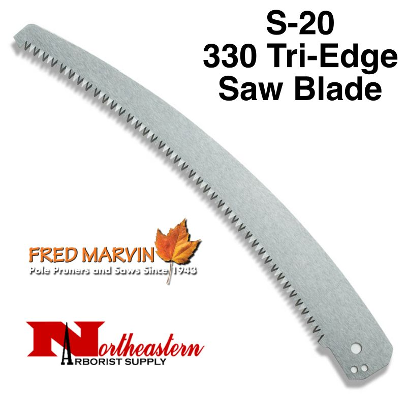 Fred Marvin Pole Saw Blade, Marvin 330 Tri-edge