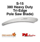 Fred Marvin Pole Saw Blade, 330 Tri-edge S-15