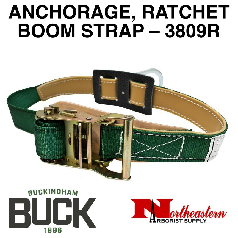 Buckingham Bucket Truck, ANCHORAGE, RATCHET BOOM STRAP – 3809R