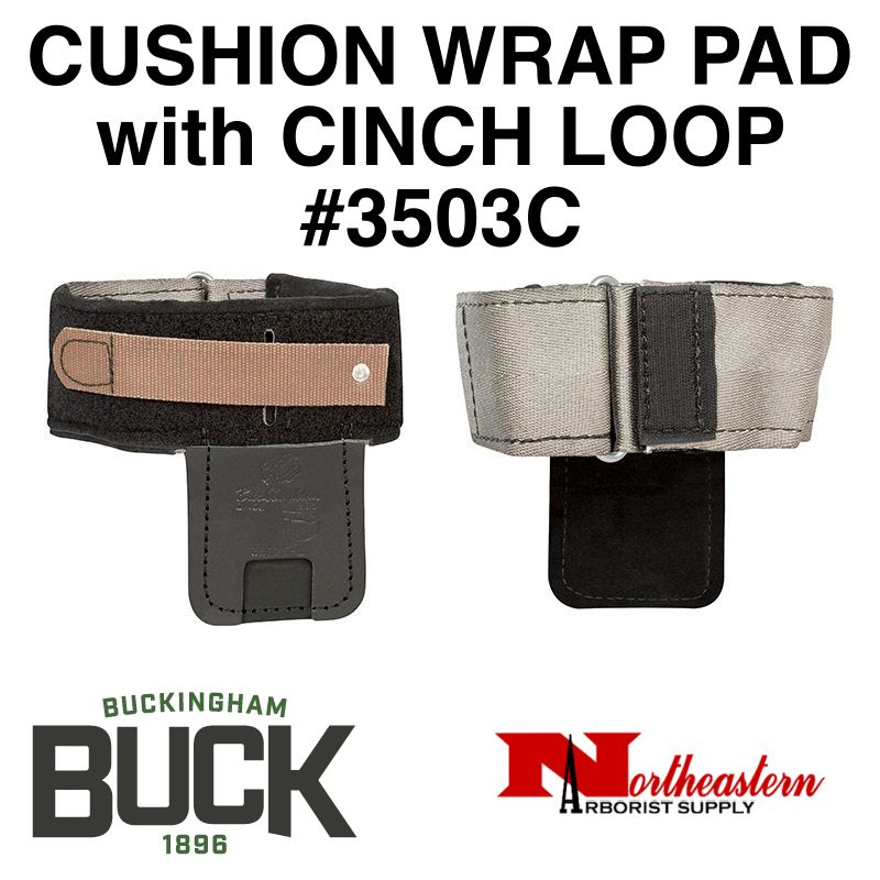 "Buckingham Climber Pads, Velcro/Cinch Loop 3"" Wide"