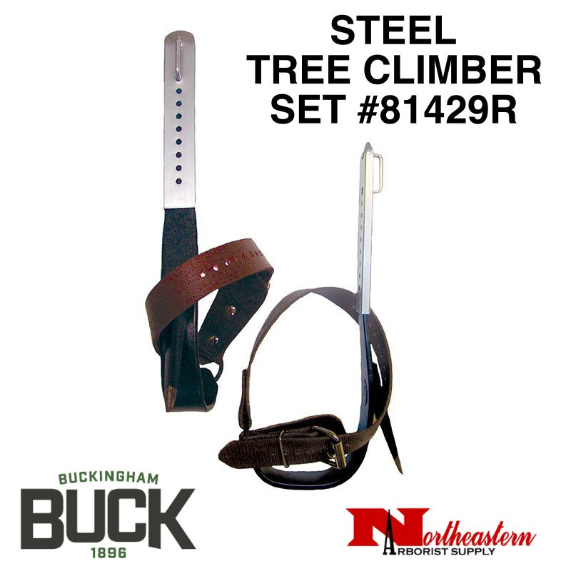 Buckingham Climber Set, Steel-Tree with Permanent Gaffs