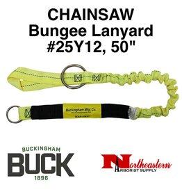 "Buckingham Lanyard, Chainsaw, Bungee 50"" Yellow"