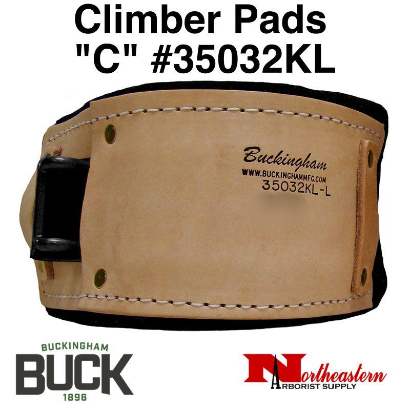 "Buckingham Climber Pads ""C"" Fits Klein"
