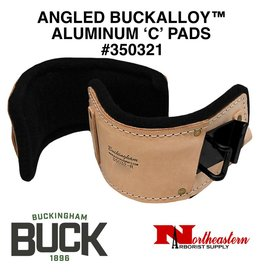 "Buckingham Climber Pads, ""C"" ANGLED ALUMINUM BUCKALLOY™"