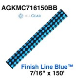 """All Gear Inc. Finish Line Blue™ 7/16"""" x 150' 32-Strand Kernmantle Composite Climbing Line"""