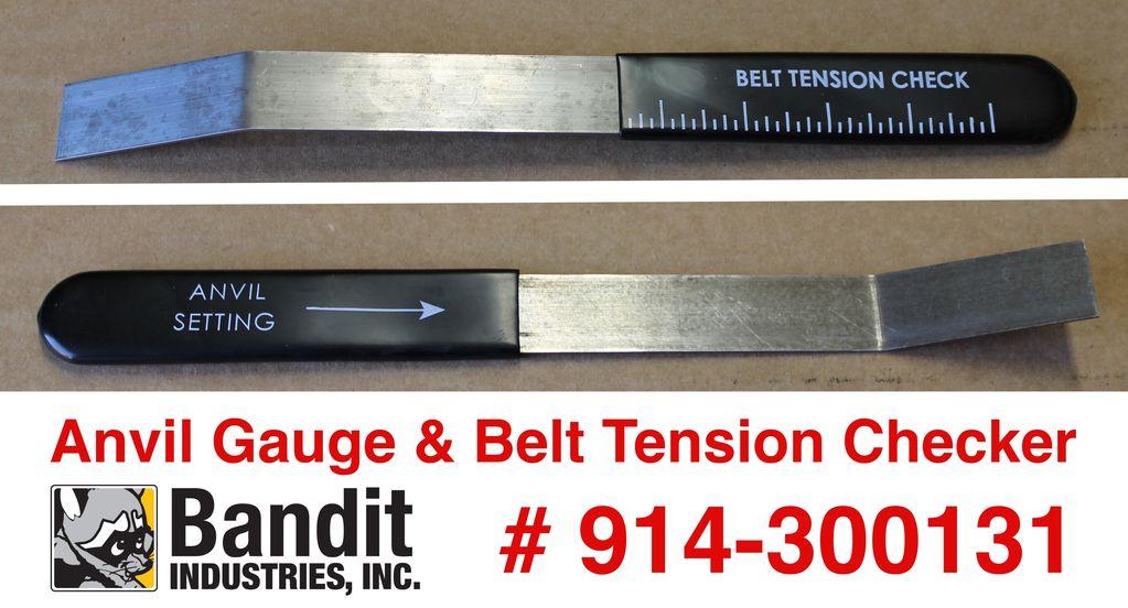 Bandit® Parts Anvil Gauge & Belt Tension Tool Models 65-250, 914-300131