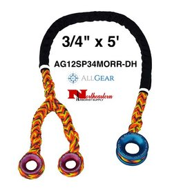 "All Gear Inc. Sling, Ring to Ring with Double Head, 3/4"" x 5'"