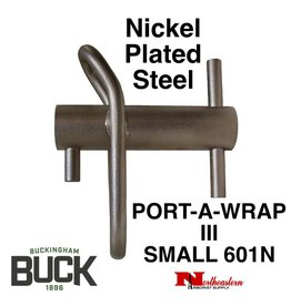 Buckingham Port-A-Wrap III, Small Nickel Plated Steel