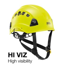 Petzl Helmet, VERTEX® VENT, High Visibility Yellow