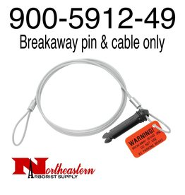 Bandit® Parts Breakaway pin & cable ONLY for 12v break away switch
