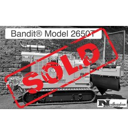 Bandit® SOLD - Model 2650T Track Drive Stump Grinder