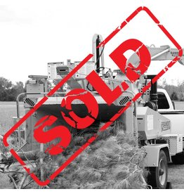 Bandit® SOLD - Model Intimidator ™ 19XPC - Towable Drum Style Hand-Feed Chipper, GM 5.7L 165hp Gas Engine