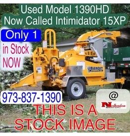 Bandit® Used MODEL 1390 Drum Chipper with a GM 130HP Gas Engine