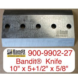 """Bandit® Parts Knife for M1890 AFTER 11/01/99, 1590,  18XP 19XP, 10"""" x 5+1/2"""" x 5/8"""" - 5 Hole"""