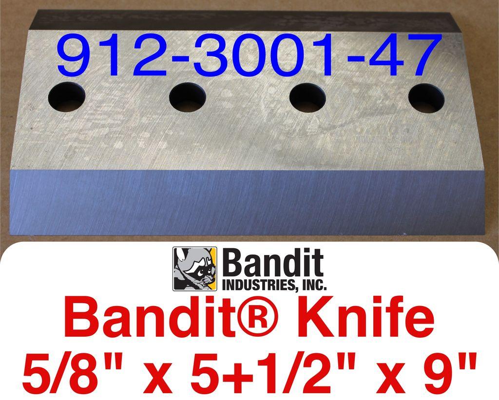 "Bandit® Parts Knife, 5/8"" x 5+1/2"" x 9"", 912-3001-47"